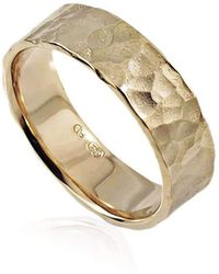 Aimee Sutanto Jewellery - Winter Lake 7mm Yellow Gold Ring - Lyst