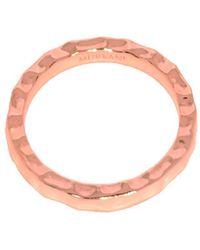 Murkani Jewellery - Rose Gold Free Layering Ring - Lyst