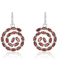 Nehita Jewelry - Two-in-one Detachable Agate & Diamond Earrings - Lyst