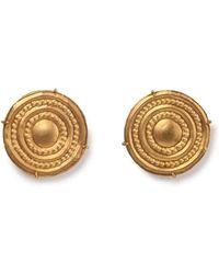 Mara Hotung - Ginta Gold Cufflinks 18 & 24kt Yellow Gold - Lyst
