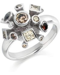 Justin Richardson - White Gold Explosion Ring - Lyst