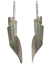 Emma Mogridge Jewellery - Large Spiral Earrings - Lyst