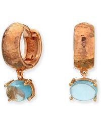 Maviada - Bastia Vermeil Rose Gold Earrings - Lyst