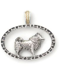 Donna Pizarro Designs - Sterling Silver American Eskimo Necklace With 14kt Accent - Lyst
