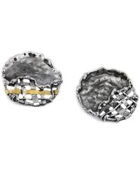 Katarina Cudic - Round Fence Earrings - Lyst