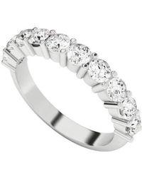 StyleRocks - Diamond Eternity Ring 9kt White Gold - Lyst