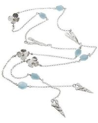 Kate Chell Jewellery - Lariat Necklace - Lyst