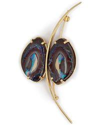 Mara Hotung - Opal Butterfly Brooch 18kt Yellow Diamonds - Lyst