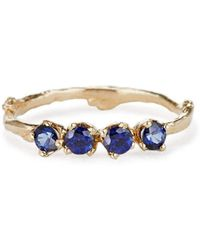 Olivia Ewing Jewelry - Sapphire Garland Ring - Lyst