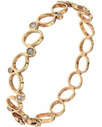 Botta Gioielli - Rigid Rose Bubbles Bracelet - Lyst