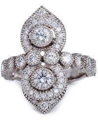 Katherine LeGrand Custom Goldsmith - Arabian Nights Diamond Ring - Lyst
