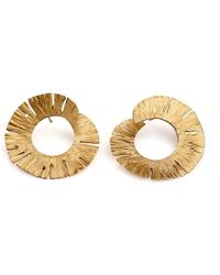 Valentina Falchi Artistic Jewellery - Nymph Rounded Earrings - Lyst