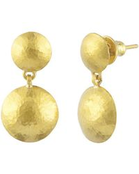 Gurhan - Lentil Double Drop Earrings - Lyst