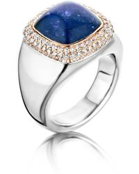 Baskania - Electric Blue Collection Ring - Lyst