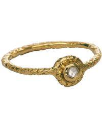Susan Wheeler Design - Rose Cut Ring - Lyst