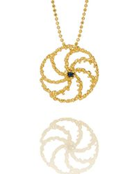 Aurum By Gudbjorg - Asterias 202 Gold Plated Necklace - Lyst