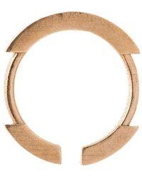 Lumitoro - Stickii Ring Ii Raw Bronze - Lyst