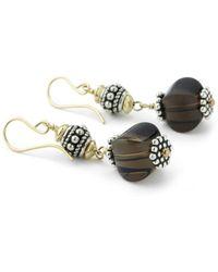 Elisa Ilana Jewelry - Smoky Quartz Earrings - Lyst