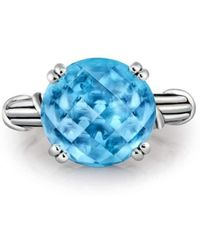 Peter Thomas Roth Fine Jewelry - Fantasies Blue Topaz Sterling Cocktail Ring - Lyst