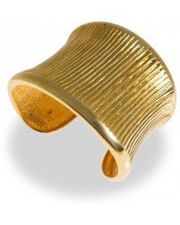 Hissia - Gold Oni Cuff - Lyst