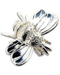 Will Bishop - Silver Bumble Bee Brooch - Lyst