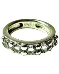 Beryl Dingemans Jewellery - Silver Green Amethyst Gem Ring - Lyst