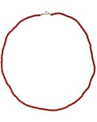 Lainey Papageorge Designs - Coral Necklace - Lyst