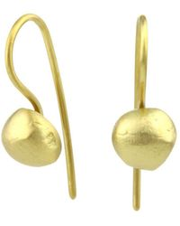 Prism Design - 9kt Gold Sulis Bead Earrings - Lyst