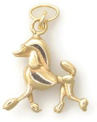 Donna Pizarro Designs - 14kt Yellow Gold Poodle Charm Bracelet Strutt Your Stuff - Lyst