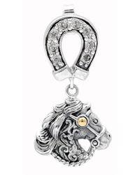 Deni Jewelry - Horse Stud Earrings - Lyst