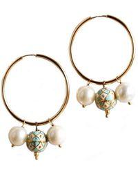 M's Gems by Mamta Valrani - Bohemia Hoop Earrings - Lyst