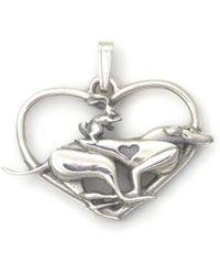 Donna Pizarro Designs - Sterling Silver Greyhound Necklace - Lyst