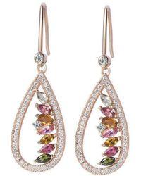 H.Azeem - Tourmaline Empress Earrings - Lyst