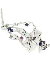 Rachel Helen Designs - Sterling Silver Morning Glory Bracelet - Lyst