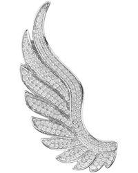 LÁTELITA London - Sterling Silver Gabriel Angel Wing Ear Climber - Left - Lyst