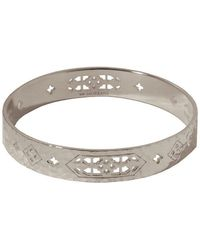Murkani Jewellery - Sterling Silver Jaipur Bangle | - Lyst