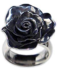 Amanda Cox Jewellery - Small Rose Ring - Lyst