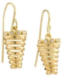 Michal Bendzel Friedman Jewelry Design - Malkosh 18kt Diamond Earrings - Lyst