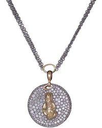 Maria Kovadi Fine Jewellery - Lotus Baby Charm - Lyst