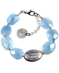 Sima Vaziry - Hope Aquamarine Bracelet - Lyst