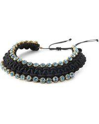 BuDhaGirl - Smn Crystal Bib Necklace | - Lyst