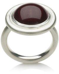 Naomi Tracz Jewellery - Garnet Cabochon Ring - Lyst