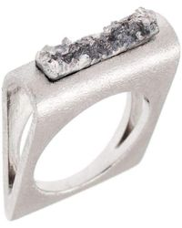Pasionae   Folded Ring   Lyst