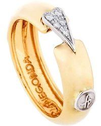 Franco Piane Designed By Franco Pianegonda - Esoteric Diamond Ring - Lyst