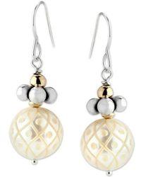 Elisa Ilana Jewelry - Pearl Earrings - Lyst