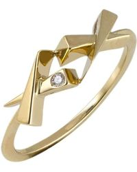 Daou Jewellery - Kisses Diamond Ring - Lyst