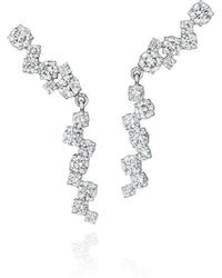 Madstone Design - Diamond Melting Ice Earcuff With Drops - Lyst