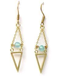 Radha - Endless Blue Skies Earrings - Lyst