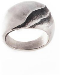 Poul Havgaard Jewelry - Asymmetric Silver Ring - Lyst