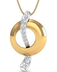 Diamoire Jewels Effloresce 18kt Yellow Gold Pendant flFGf